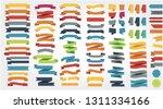 ribbons set illustration | Shutterstock .eps vector #1311334166