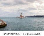 maiden's tower  kiz kulesi  at...   Shutterstock . vector #1311336686