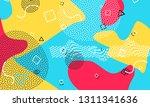 pop art color background.... | Shutterstock .eps vector #1311341636