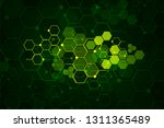 abstract medical background and ... | Shutterstock .eps vector #1311365489
