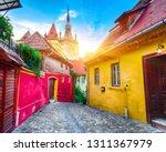 stunning summer view of... | Shutterstock . vector #1311367979