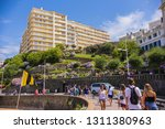 biarritz  france   june 2018 ... | Shutterstock . vector #1311380963