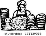 noir et blanc,carrière,nettoyer,sale,plat,lave-vaisselle,dessin,femelle,mousse,illustration,emploi,pile,professionnel,évier,machine à laver