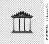 bank building icon isolated on... | Shutterstock .eps vector #1311393710