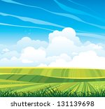 group of cumulus clouds on the... | Shutterstock .eps vector #131139698