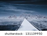 Infrared Picture Of Path Over...