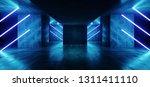 sci fi neon cyber futuristic... | Shutterstock . vector #1311411110