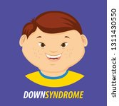 world down syndrome day card... | Shutterstock .eps vector #1311430550