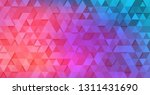 colorful geometric backdrop... | Shutterstock .eps vector #1311431690