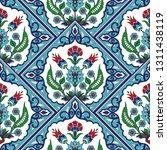 turkish arabic pattern vector... | Shutterstock .eps vector #1311438119