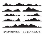 vector graphics set of... | Shutterstock .eps vector #1311443276