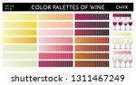illustration of wine color...   Shutterstock .eps vector #1311467249