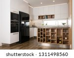 interior of modern kitchen with ... | Shutterstock . vector #1311498560