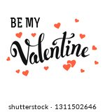 hand drawn vector lettering... | Shutterstock .eps vector #1311502646