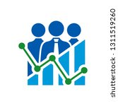 group of people or teamwork... | Shutterstock .eps vector #1311519260
