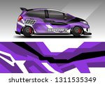 car wrap decal rally design... | Shutterstock .eps vector #1311535349