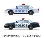 police car. pixel art | Shutterstock .eps vector #1311541400