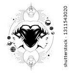 vector hand drawn illustration...   Shutterstock .eps vector #1311543020