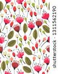 spring theme seamless pattern... | Shutterstock .eps vector #1311562190