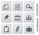 office icons vector | Shutterstock .eps vector #131159294