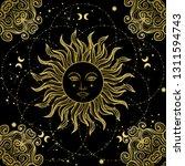 vector illlustration of sun  ...   Shutterstock .eps vector #1311594743