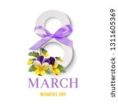 decorative 8 number with spring ...   Shutterstock .eps vector #1311605369
