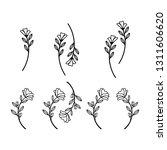 logos vector in elegant and... | Shutterstock .eps vector #1311606620