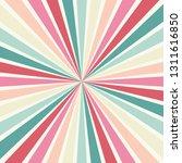 retro starburst or sunburst... | Shutterstock .eps vector #1311616850