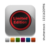 limited edition seals with long ... | Shutterstock .eps vector #1311620996