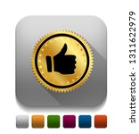 vector illustration of thumb up ... | Shutterstock .eps vector #1311622979