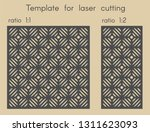 template for laser cutting.... | Shutterstock .eps vector #1311623093