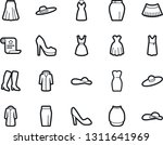 bold stroke vector icon set  ... | Shutterstock .eps vector #1311641969