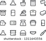 bold stroke vector icon set  ... | Shutterstock .eps vector #1311643556