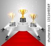 winner awards on victory... | Shutterstock .eps vector #1311648569