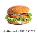 Tasty Vegetarian Burger With...