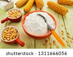 starch and corn cob on the table | Shutterstock . vector #1311666056