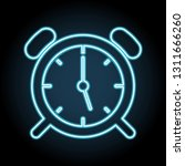 wake up clock logo templateneon ...