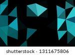 light blue vector blurry...   Shutterstock .eps vector #1311675806