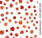 light orange vector seamless... | Shutterstock .eps vector #1311681140