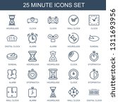 minute icons. trendy 25 minute... | Shutterstock .eps vector #1311693956