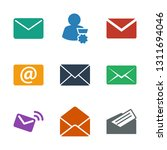 receive icons. trendy 9 receive ... | Shutterstock .eps vector #1311694046
