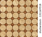 brown mosaic marble texture.... | Shutterstock . vector #131169518