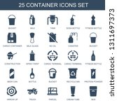 container icons. trendy 25... | Shutterstock .eps vector #1311697373