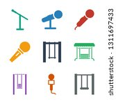 9 sing icons. trendy sing icons ... | Shutterstock .eps vector #1311697433