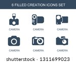 6 creation icons. trendy... | Shutterstock .eps vector #1311699023
