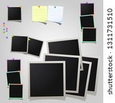 a large set of square photo ... | Shutterstock .eps vector #1311731510