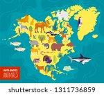 vector flat illustration of... | Shutterstock .eps vector #1311736859