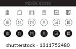 inside icons set. collection of ... | Shutterstock .eps vector #1311752480
