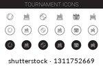 tournament icons set....   Shutterstock .eps vector #1311752669