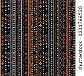 tribal art  ethnic seamless... | Shutterstock .eps vector #1311766520